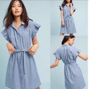 Anthropologie Isabella Sinclair Piper Shirt Dress
